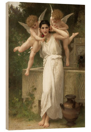 Cuadro de madera  Youth - William Adolphe Bouguereau