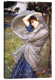 Lienzo  Bóreas - John William Waterhouse