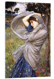 Cuadro de PVC  Bóreas - John William Waterhouse