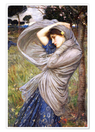 Póster  Bóreas - John William Waterhouse