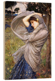 Cuadro de madera  Bóreas - John William Waterhouse