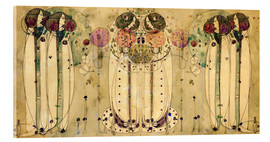 Metacrilato  El Wassail - Charles Rennie Mackintosh