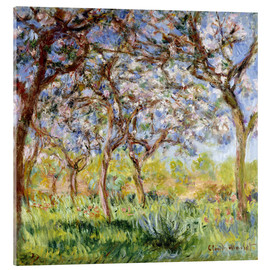 Metacrilato  Spring at Giverny - Claude Monet