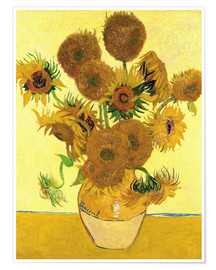Póster  Sunflowers - Vincent van Gogh