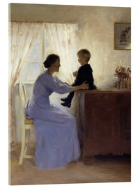 Metacrilato  Mother and Child - Peter Vilhelm Ilsted