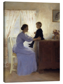 Lienzo  Mother and Child - Peter Vilhelm Ilsted