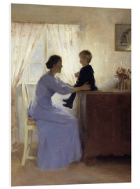 Cuadro de PVC  Mother and Child - Peter Vilhelm Ilsted