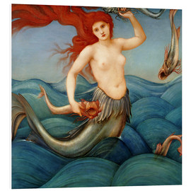 Cuadro de PVC  Sea Nymph - Edward Burne-Jones