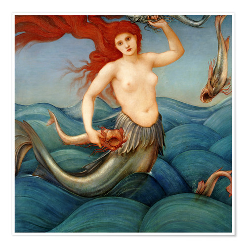 Póster Sea Nymph