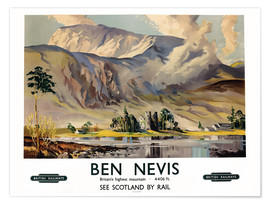 Póster Ben Nevis, British Railways