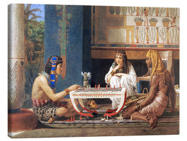 Lienzo  Egyptian Chess Players - Lawrence Alma-Tadema