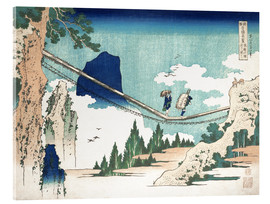 Metacrilato  Minister Toru, from the series Poems of China and Japan - Katsushika Hokusai