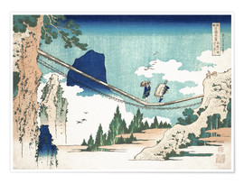 Póster  Minister Toru, from the series Poems of China and Japan - Katsushika Hokusai