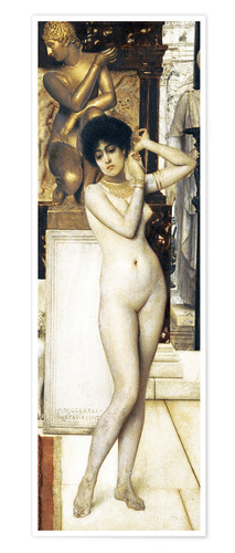 Póster Allegory of Sculpture, study