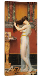 Cuadro de madera  The Toilet - John William Godward