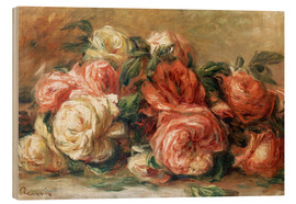 Madera  Discarded Roses - Pierre-Auguste Renoir
