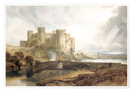 Póster Conway Castle, c.1802