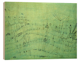 Madera  Prehistoric Vegetation, 1920 - Paul Klee