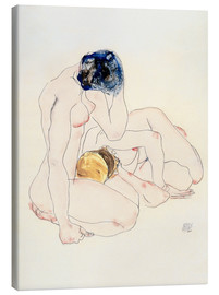 Lienzo  Two Friends - Egon Schiele