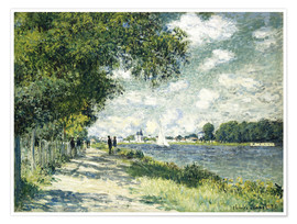 Póster Seine at Argenteuil