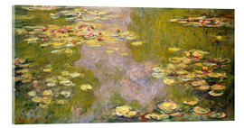 Cuadro de metacrilato  The Lily Pond - Claude Monet