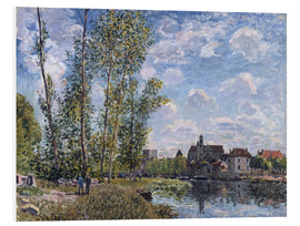 Cuadro de PVC  The Loing in Moret in May - Alfred Sisley