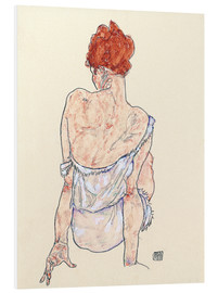 Forex  Female back - Egon Schiele