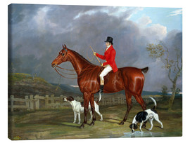 Lienzo  A Huntsman and Hounds, 1824 - David of York Dalby