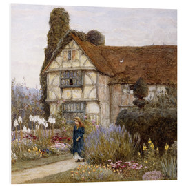 Cuadro de PVC  Old Manor House - Helen Allingham
