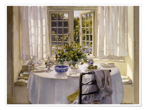 Póster The Morning Room, 1916