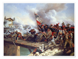 Póster The Battle of Pont d'Arcole, 1826