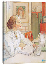 Lienzo  Mi hija mayor - Carl Larsson