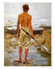 Póster A Boy with an Oar