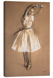 Lienzo  Small dancer - Edgar Degas