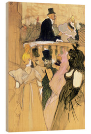 Madera  At the Opera Ball - Henri de Toulouse-Lautrec