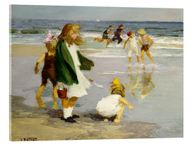 Cuadro de metacrilato  Play in the Surf - Edward Henry Potthast