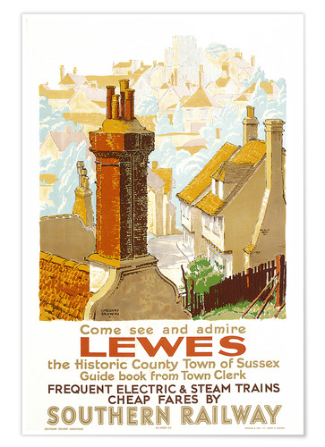 Póster Come see and admire Lewes