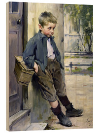 Cuadro de madera  Out of the Game - Henri Jules Jean Geoffroy