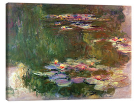 Lienzo  The lily pond - Claude Monet
