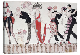 Lienzo  The Tango - Georges Barbier