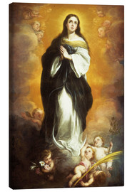 Lienzo  The Immaculate Conception - Bartolome Esteban Murillo