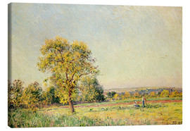 Lienzo  A Summer's Day, 1886 - Alfred Sisley