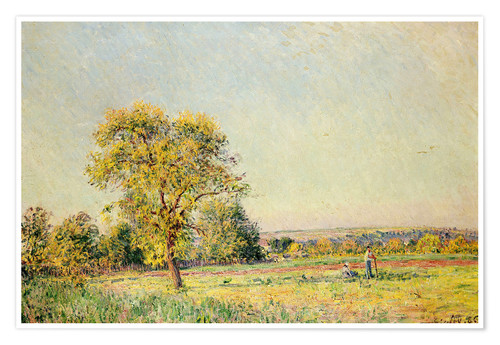 Póster A Summer's Day, 1886