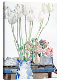 Lienzo  Tulipanes blancos - Charles Rennie Mackintosh