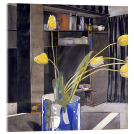 Cuadro de metacrilato  Yellow Tulips - Charles Rennie Mackintosh