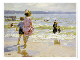 Póster At the Seashore