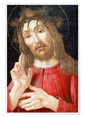 Póster Christ as Man of Sorrows