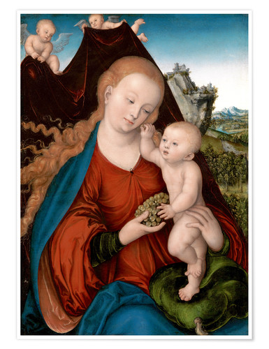 Póster The Madonna and Child