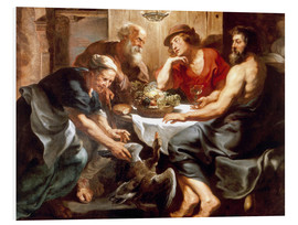 Cuadro de PVC  Jupiter and Mercury with Philemon and Baucis - Peter Paul Rubens