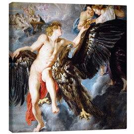Lienzo  Abduction of Ganymede - Peter Paul Rubens